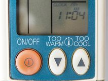 Air conditioning control royalty free stock images