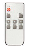 Remote control audio Stock Image