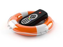 Remote control with buoy Stock Images