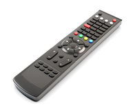 Remote control buttons without labeling Stock Photo