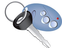 Remote control car key Royalty Free Stock Photography