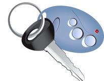 Remote control car key. Vector remote control car key Royalty Free Stock Photography