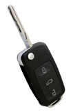 Remote control car key. Isolated on a white background Royalty Free Stock Images