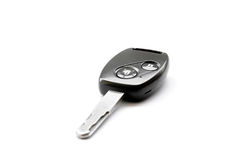 Remote control car key on white background Stock Image