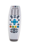 Remote control with clipping path Royalty Free Stock Photos
