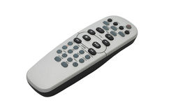 Remote control. With clipping path. Royalty Free Stock Photo