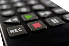 Remote Control Close Up Stock Image