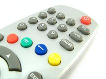 Remote control close-up Royalty Free Stock Photos