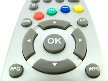 Remote control close-up Stock Photo