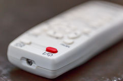 Remote control in close up viee Stock Photos