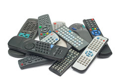 Remote control devices Royalty Free Stock Images