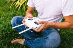 Remote control drone stock photos