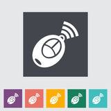 Remote control flat icon Stock Image