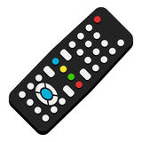 Remote Control Flat Icon Isolated on White Stock Photo