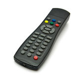Remote Control. A generic remote control  on white background Royalty Free Stock Photos