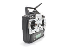Remote control for helicopers and airplanes Stock Photos