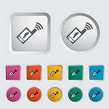 Remote control icon Royalty Free Stock Images