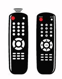 Remote control icon Stock Photos