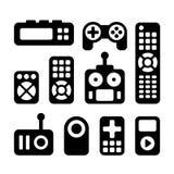 Remote Control Icons Set stock illustration