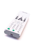 Remote control isolated. DVD and TV remote control isolated on white Stock Images