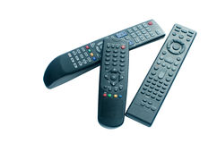 Remote control isolated Stock Photos