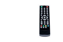 Remote control on isolated background Royalty Free Stock Photography
