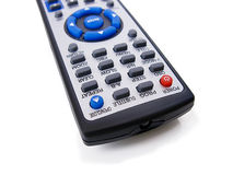 Remote control isolated in white Royalty Free Stock Images