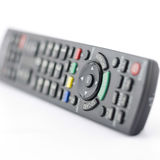 Remote  control isolated on white Royalty Free Stock Photos