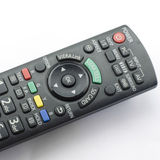 Remote  control isolated on white Royalty Free Stock Images