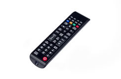 Remote control isolated on white. Remote control eletronic chanel video Stock Photography