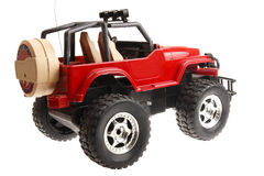 Remote control jeep Stock Photos
