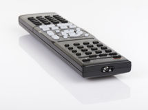 Remote control keypad black on white isolated Royalty Free Stock Photo