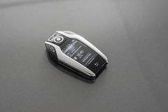 Remote control with lcd panel for car Royalty Free Stock Photos