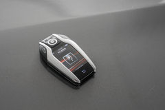 Remote control with lcd panel for car Stock Photos