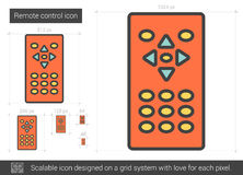 Remote control line icon. Royalty Free Stock Image