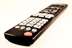 Remote control. In macro photography Stock Photos