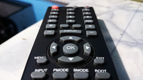 Remote control with many buttons Stock Image