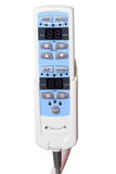Remote control of medical equipment Royalty Free Stock Image