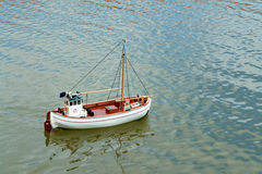 Remote control model scale sail boat Stock Photography