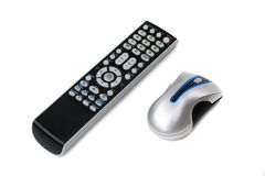 Remote Control and Mouse Stock Photos
