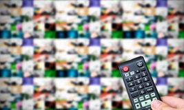Remote control. Multiple images gallery Royalty Free Stock Photos