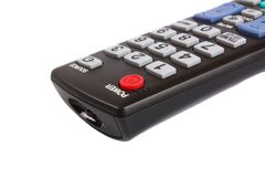 Remote control panel Royalty Free Stock Image