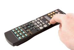 Remote control panel Stock Image