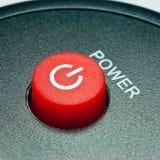 Remote control power button Stock Photos