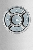 Remote control pushbuttons. User friendly concept of technology realized with the pushbuttons of a remote control royalty free stock photo