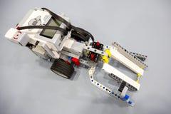 Building blocks remote control robot Stock Photos