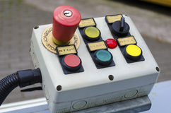 Remote control for start and stop. Royalty Free Stock Photo