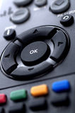 Remote Control Television Royalty Free Stock Photography