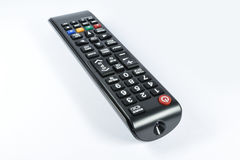 Electronic device remote control for televisor Stock Images