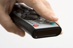 Remote Control Turn On Royalty Free Stock Photography